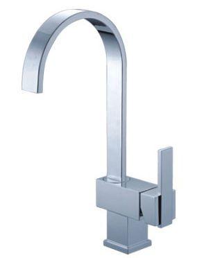 VidaXL Mixer Basin Sink Kitchen Tap Chrome