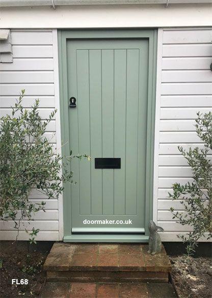 Factory Spray Painted F B No 79 Card Room Green Cottage Door Door Frame Doors