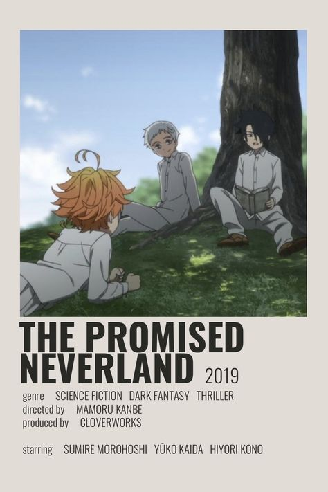 The Promised Neverland Poster by Cindy