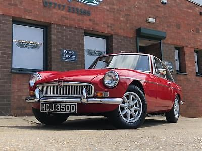 eBay: Lovely 1966 MGB GT MK1, matching numbers car