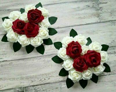 1 x Calla bordeaux Seidenblumen künstliche Blumen-Deko