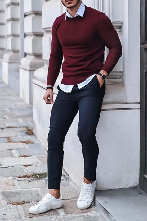 visit our website for the latest men's fashion trends products and tips . Formal Men Outfit, Casual Wear For Men, Stylish Mens Outfits, Formal Dresses For Men, Formal Suits, Business Mode, Business Casual Men, Business Entrepreneur, Mode Man