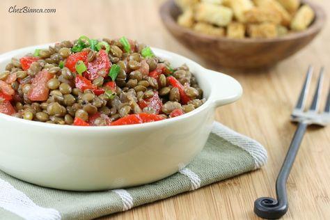 Salada de lentilha