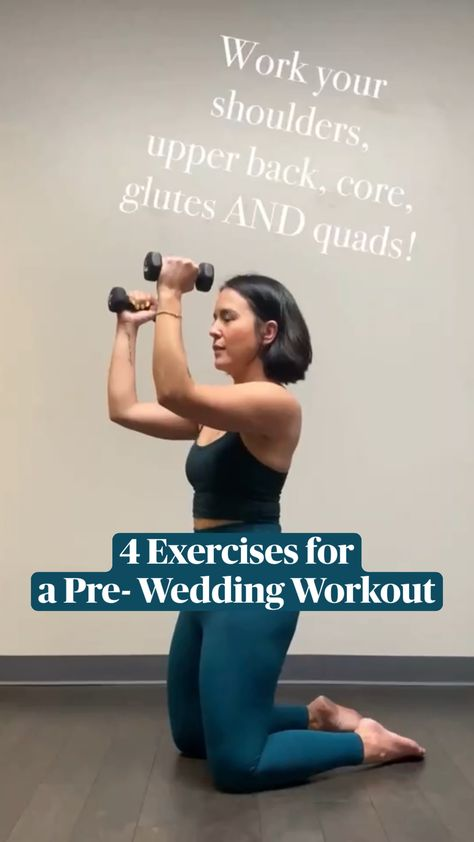 4 Exercises for a Pre-Wedding Workout | Get Body Confident!