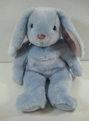 MWMT 8.5 Inch Ty Beanie Baby ~ SPRINGFIELD the Bunny