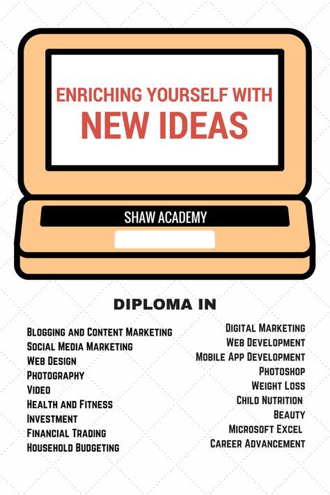 Shaw Academy Enriching Yourself With New Ideas April Speaks Your Personal Advisor
