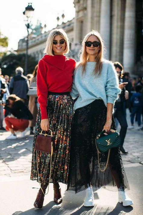 The Best Street Style Of Paris Fashion Week - Street Style Inspiration - Mode