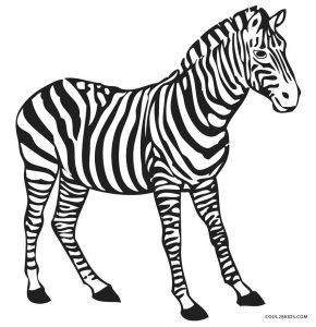 Free Printable Zebra Coloring Pages For Kids Cool2bkids Zebra Coloring Pages Zebra Clipart Zebra Illustration