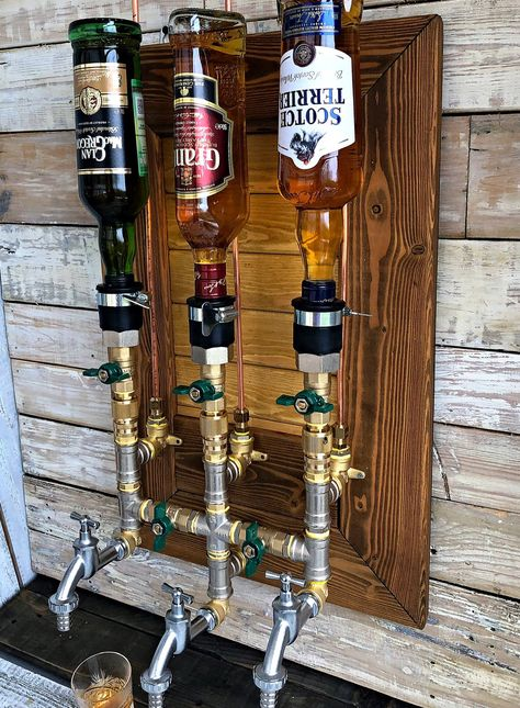 Excited to share this item from my shop: Whiskey Dispenser, Liquor Alcohol Whiskey Liquor Dispenser, Brass & Wood Dispenser, Whiskey Decanter, Jack Daniels Man Cave Room, Man Cave Diy, Man Cave Home Bar, Rustic Man Cave, Man Cave Mini Bar, Man Cave Barn, Country Man Cave, Modern Man Cave, Man Cave Bathroom