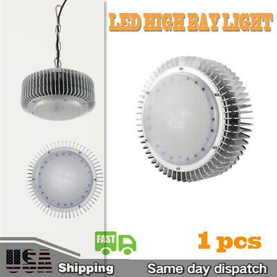 200W LED High Bay Light Warehouse Lighting Fixtures Commercial Shop Shed Lamps