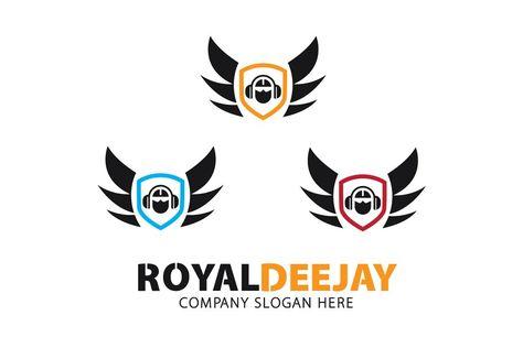 Royal Dj Logo Dj Logo Event Logo Party Logo