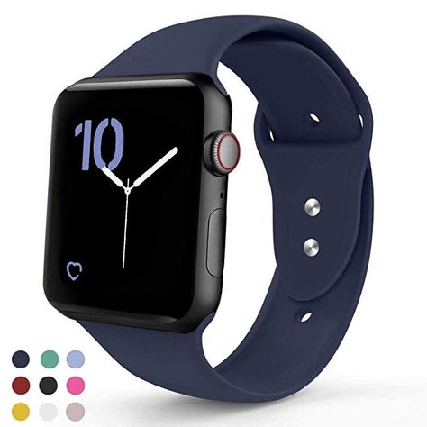 Vati Sport Band Compatible With Le Watch 42mm 38mm Soft Silicone Strap Replacement Bands Iwatch Series 3