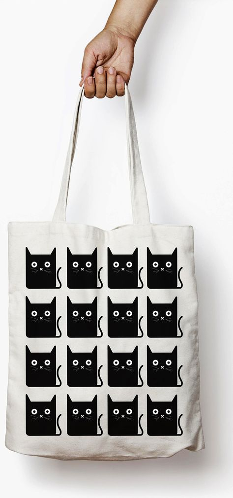 873cd60ba90 Show Your Feline Side While Shopping: 4 Cat Tote Bags