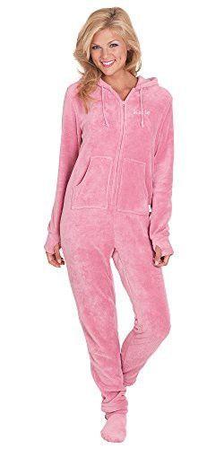 Camille Damen Luxus Snow Leopard Katze All in One Einteiler Pyjama Fleece