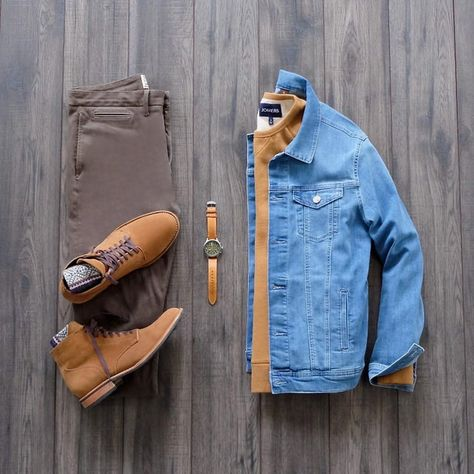Stylish Mens Outfits, Cool Outfits, Casual Outfits, Fashion Outfits, Men Fashion Show, Mens Fashion, Country Style Outfits, Fashion Network, Moda Casual