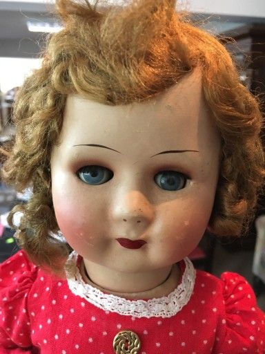 Lalka Stara Ek Antyki Domanski 7435857582 Oficjalne Archiwum Allegro Baby Face Baby Face