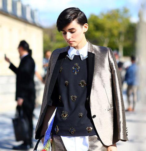 Paris Fashion Week Spring 2013: Street Style