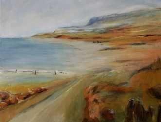 Kunstsamlingen Art Artist Helle L Christensen 410 Med Udsigt Til 70 X 80 Cm See The Artwork Here Malerier Maling Kunst Ideer