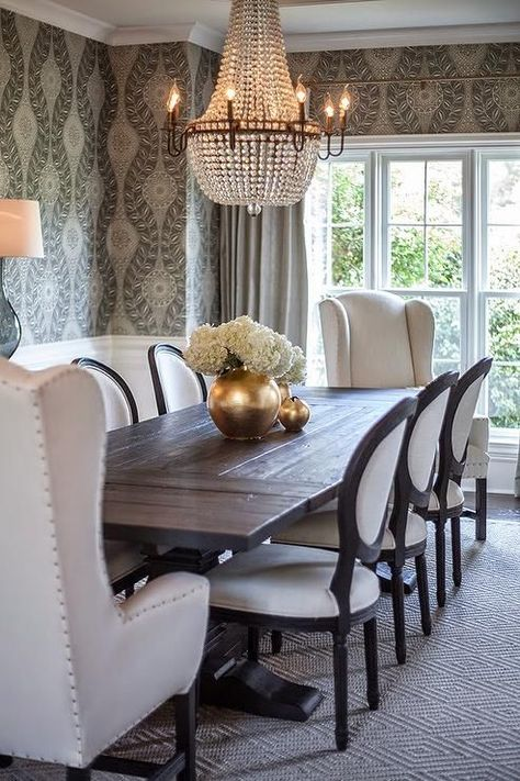 Best 25+ Transitional Dining Tables Ideas On Pinterest | Beautiful Dining  Rooms, Formal Dining Decor And Transitional Dining Rooms