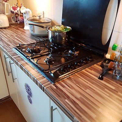 Kitchen Wall Cover Makeover Diy Worktop Vinyl Self Adhesive