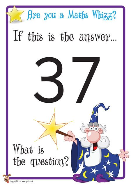Teacher's Pet Displays » Maths Challenge Posters » FREE downloadable EYFS, KS1, KS2 classroom display and teaching aid resources » A Sparklebox alternative