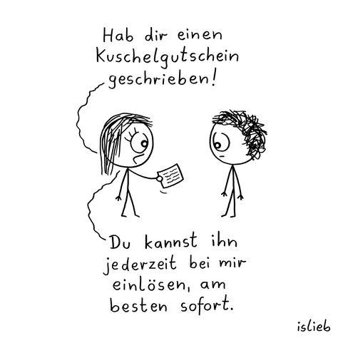 Gutschein. Is lieb? - #geschenkideen #islieb #kuscheln #Liebe #süß