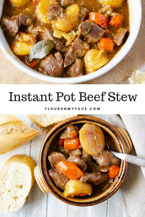 Instant Pot Beef Stew Hearty & Delicious