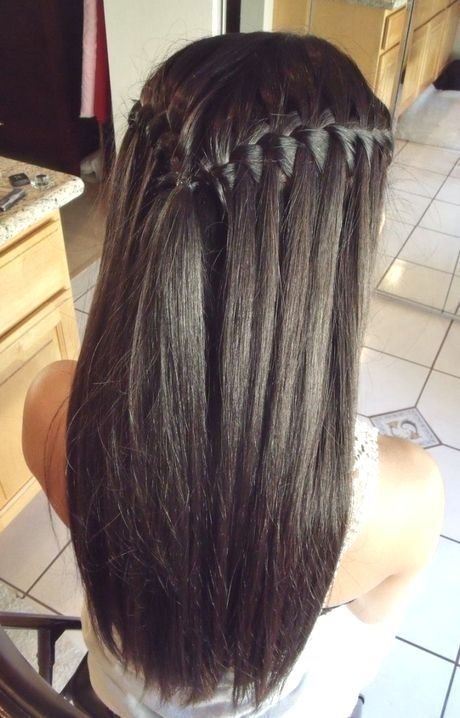 Long Straight Hairstyles For Prom Hairstyles Straight