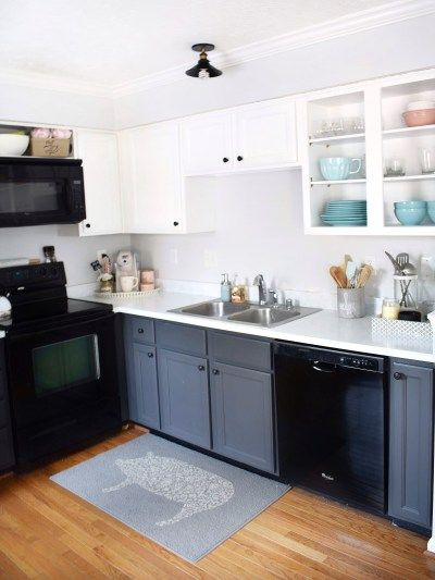 Brilliant How To Paint Kitchen Cabinets Kitchen Ideas Clean Bright Home Interior And Landscaping Sapresignezvosmurscom