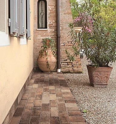 porcelain brick tiles are becoming more