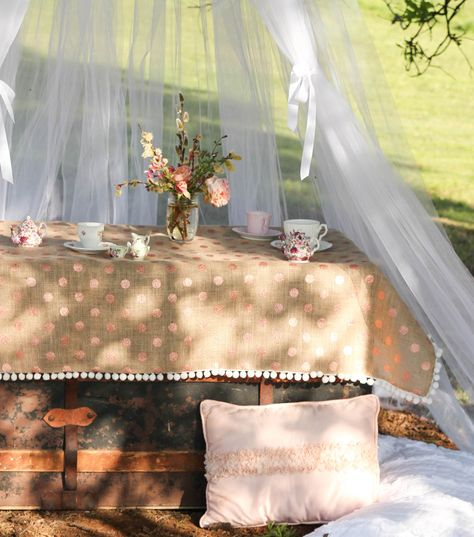 Hanging Tulle Tent by @girlinspired1