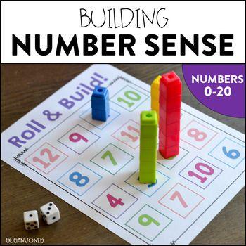 Number Sense Activities (0-20)   Numbers kindergarten, Math number ...