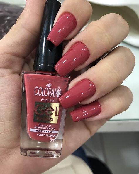 36 Romantic Red Acrylic Nail Art 2019 To Look Classy