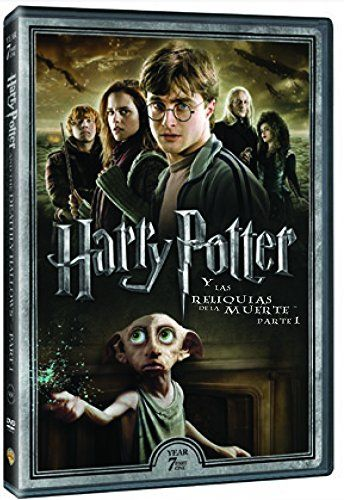 Harry Potter Y Las Reliquias De La Muerte Parte 1 Nueva Car Tula Dvd Reliquias De Datos De Harry Potter Películas De Harry Potter Reliquias De La Muerte