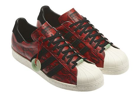 38ed4648 adidas Originals Superstar 80s Chinese New Year Pack | My style ...