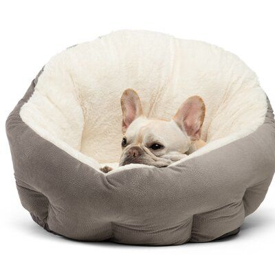 Best Friends By Sheri Ilan Deep Dish Plush Doughnut Color Gray Size Jumbo 24 W X 24 D X 13 5 H Cool Dog Beds Dog Bed Cat Bed