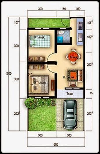 Desain Rumah Minimalis Paling Update Tahun 2015 Terbaru Yang Akan Berbagi Tentang Interior Ekster Small House Design Minimalist House Design Tiny House Design