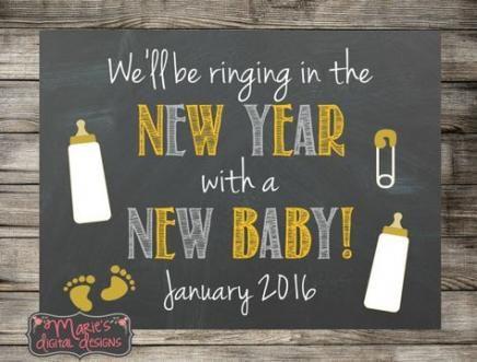 16 Trendy Baby Announcement New Years New Baby Products Baby Girl Announcement Baby Announcement Cards