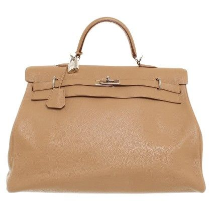 Hermes Travel Kelly 50 Togo Leather Con Imagenes
