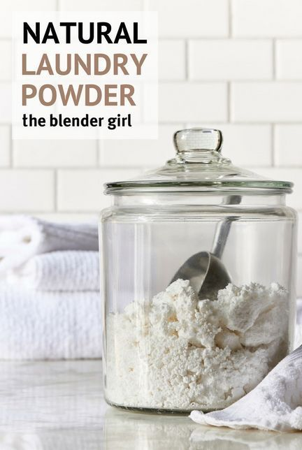 Homemade Natural Laundry Detergent Powder Recipe Natural