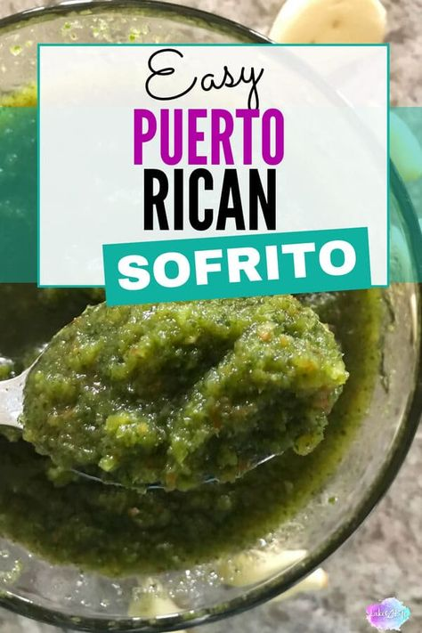 Puerto Rican Sofrito - Sofrito recipe puerto ricanThe secret to any successful Puerto Rican dish is having the perfect sofrito recipe. Puerto Rican sofrito is a mixture of peppers, onions, garlic and cilantro, and the base ingredient in almost every Puerto Rican Sofrito, Puerto Rican Dishes, Puerto Rican Cuisine, Puerto Rican Recipes, Mexican Food Recipes, Puerto Rican Salsa Recipe, Pasteles Puerto Rico Recipe, Rice And Beans Recipe Puerto Rican, Gastronomia