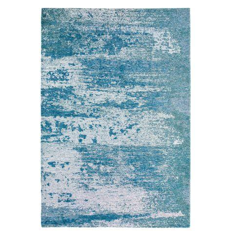 Tapis Bleu Motifs Jacquard 160x230 Tapis Bleu Tapis Et Jacquard
