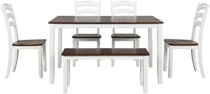 Jess 6 Piece Dining Table Set 54, Dining Room Table And Chairs
