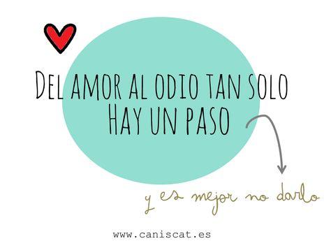 List Of Pinterest Del Amor Al Odio Hay Un Paso Frases Ideas Del