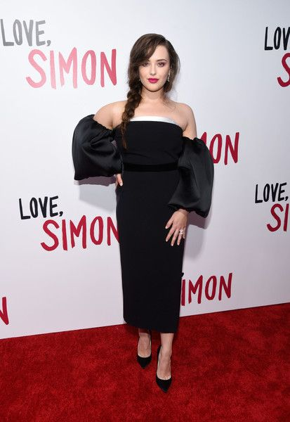 Actress Katherine Langford attends a a special screening of 20th Century Fox's 'Love, Simon' at Westfield Century City.