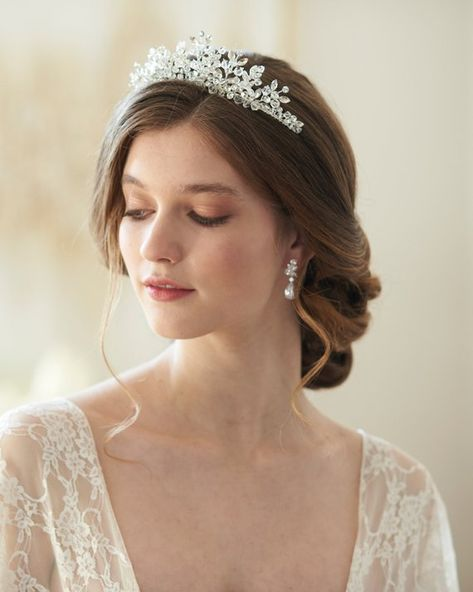 Crystal Headbands Wedding tiaras Crowns Bridal Hair Jewelry Hair Accessories  X