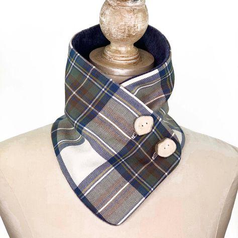 Blue Stewart Dress Tartan a very popular tartan - with antler buttons #blue #pantone2020 #pantonecoloroftheyear #tartan #tartanplaid #tartanplaidscarf #locharronofscotland #plaidcoat #etsyfinds #winterscarf #etsyhunter #fallfashion #winterfashion2020 #ilovescotland #outlanderseason5 #madeinalaska #linkinbio👉💻 #shopsmall