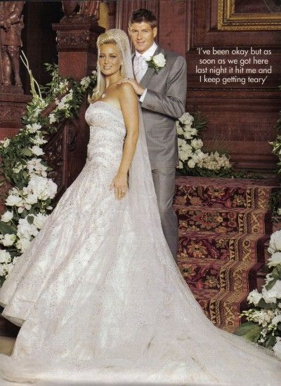Danielle Lloyd On Her Big Day With A Mate She Married Jamie OHara August 2012 And Wore Crown That We No Likey