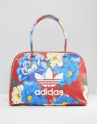 adidas In Big Farm Print Travel Floral Originals Bag XuZPOki