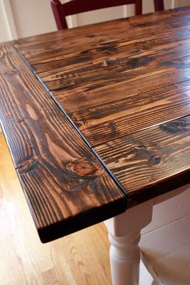 Elegant Stain Color | ⓗⓞⓜⓔ ⓓⓔⓒⓞⓡ | Pinterest | Farmhouse Table, House And Rustic  Room